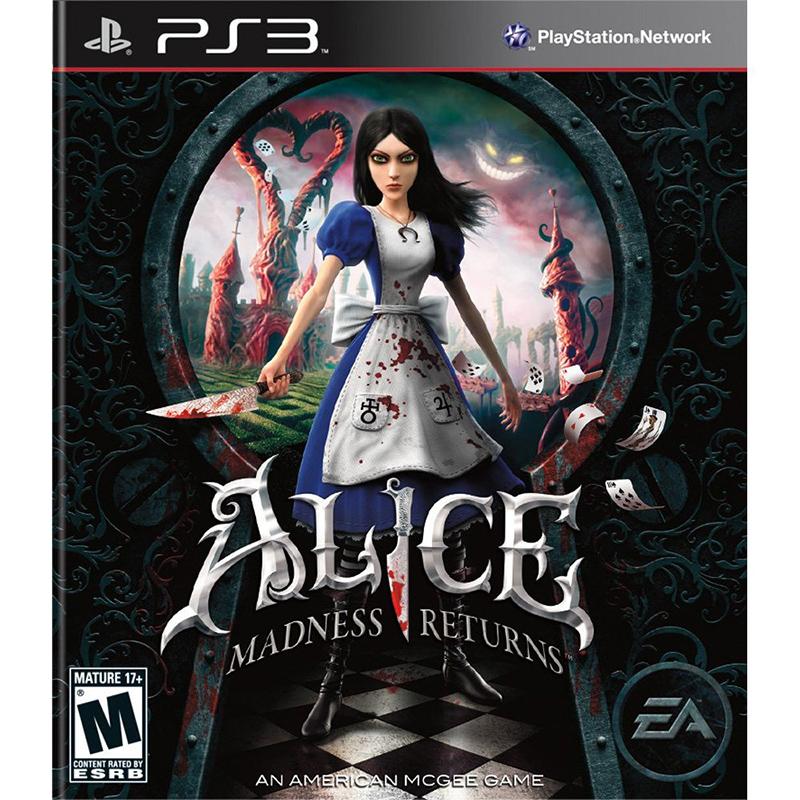 PS3 愛麗絲驚魂記:瘋狂再臨(附一代下載) Alice:Madness Returns -英文美版-