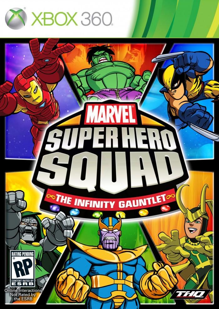 XBOX 360 Q版超級英雄小隊:極限挑戰-英文版-