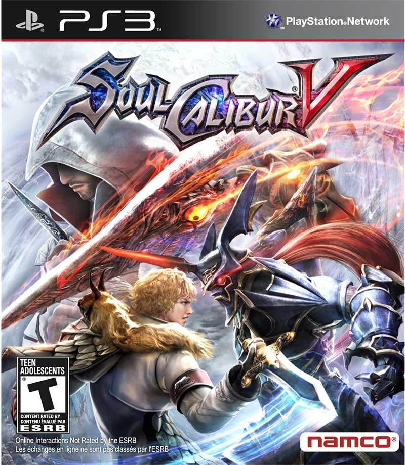 PS3 劍魂5 Soul Calibur V -英日文版-
