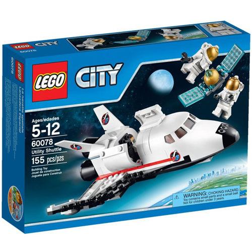 【LEGO 樂高積木】City 城市系列 - 太空探險多功能太空梭 LT 60078