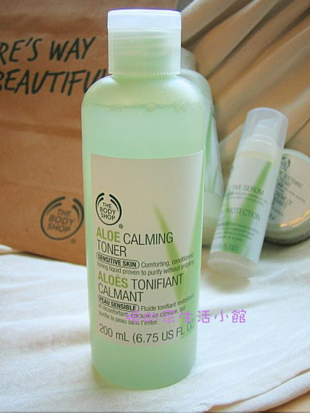 *Realhome*The Body Shop 蘆薈 舒緩 調理水~敏感肌可用