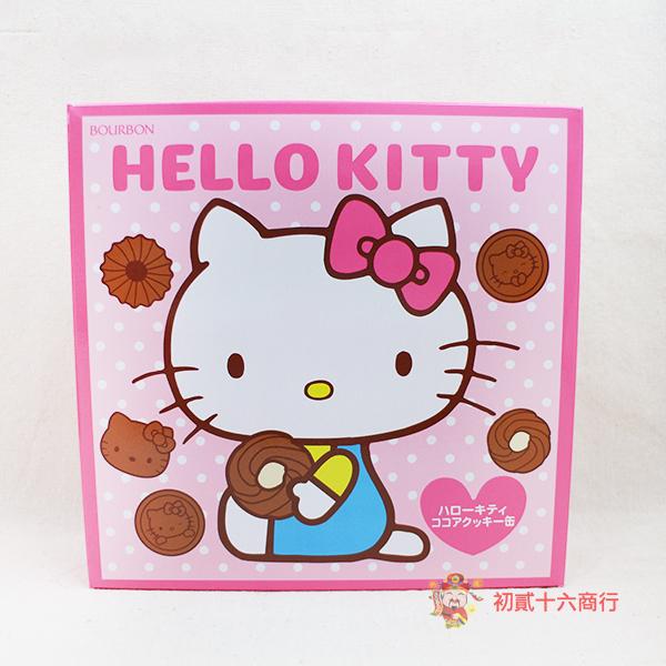 【0216零食會社】北日本Hello Kitty巧克力咖啡餅禮盒570g(附提袋)
