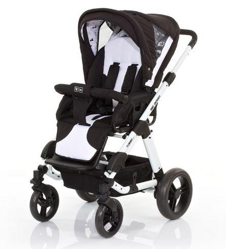 ★衛立兒生活館★德國 ABC Design Turbo 4s四輪雙向手推車(黑白款)【好禮二選一】