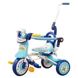 『121婦嬰用品館』PUKU豪華型輔助三輪車 - 藍 1023
