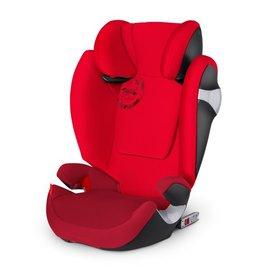 *babygo*德國Cybex - SOLUTION M-FIX 2016汽車安全座椅(3~12歲)/紅色{限量!加贈企鵝水杯240ml}