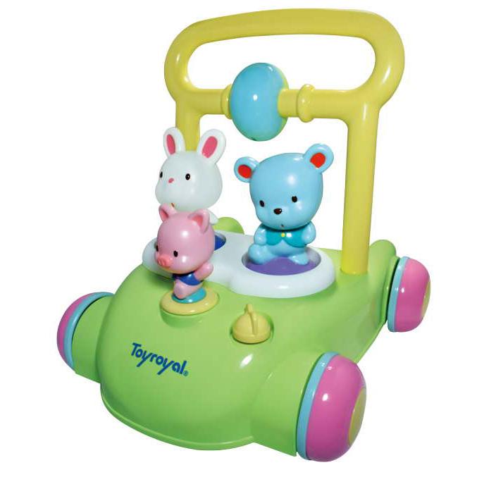 Toyroyal樂雅 - 動物音樂助步車