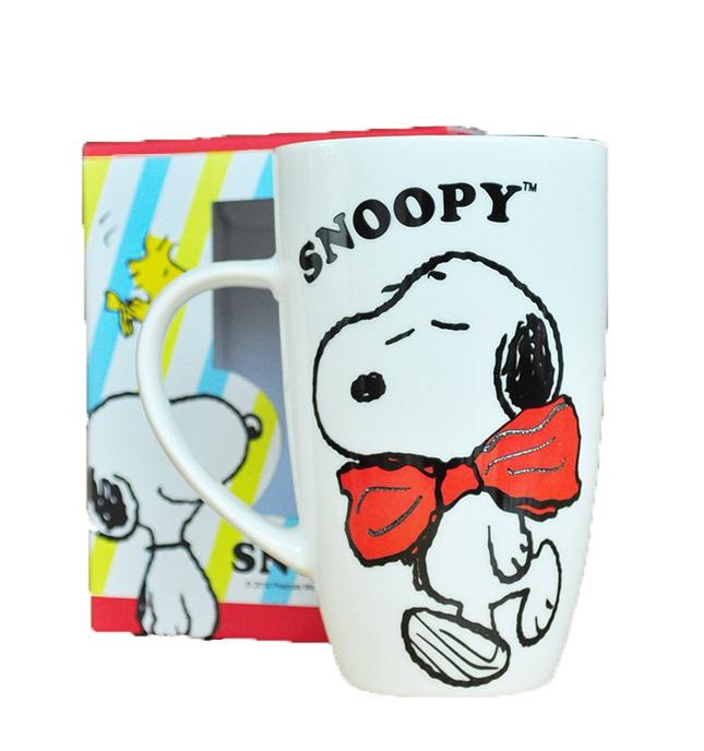 【真愛日本】14121100023 SN高雅馬克杯  史努比 SNOOPY 杯子 馬克杯 陶瓷
