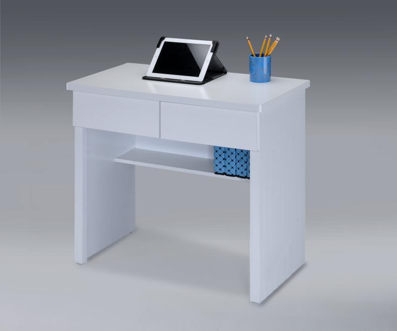 【尚品傢俱】 ※自運價※ Q-GF-B17 純白二抽書桌/電腦桌/辦公桌/書桌/事務桌/工作桌/Desk