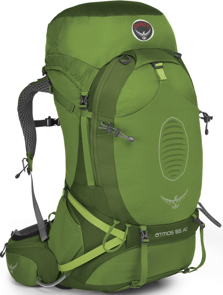 [ Osprey ] Atmos AG 65 登山背包/健行背包/大背包 男款 綠/台北山水