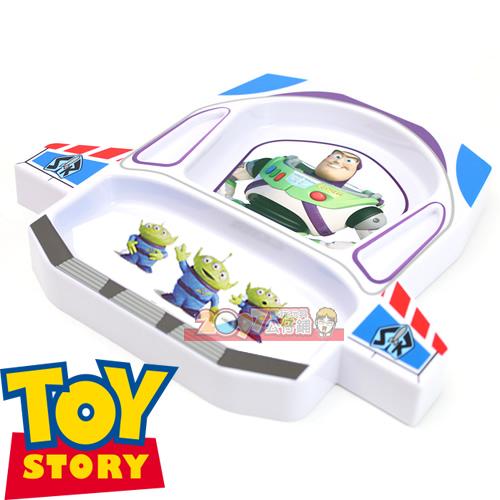 巴斯光年太空船造型餐盤餐具組 -純日版- 迪士尼 玩具總動員皮克斯 Buzz LightYear