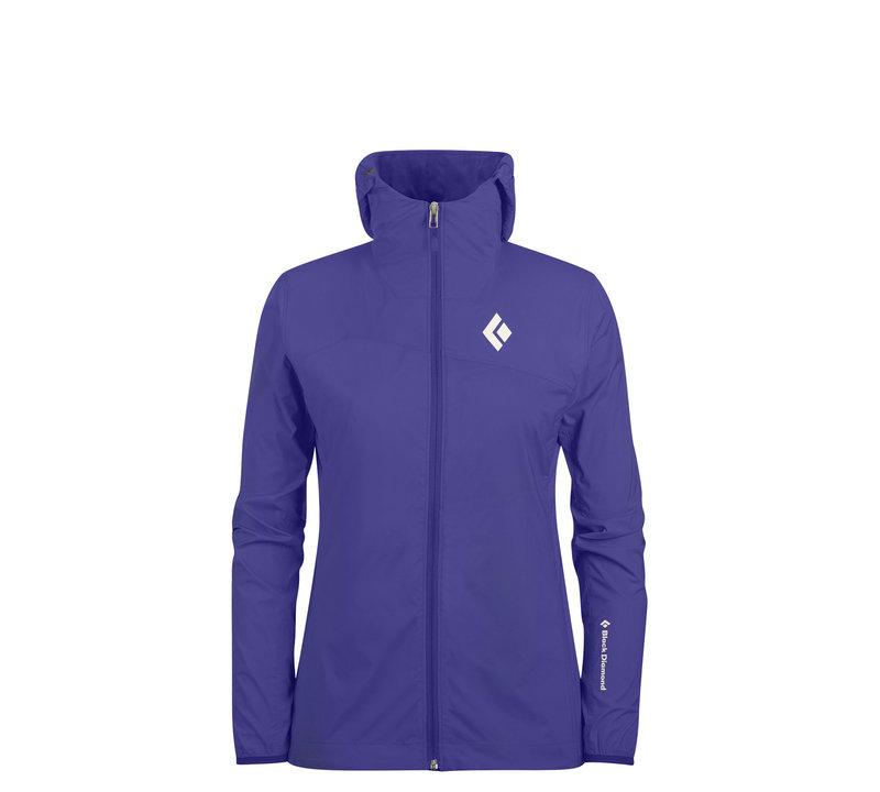 ├登山樂┤美國 Black Diamond Alpine Start 連帽軟殼外套 女款 藍紫色 #TBBT-550