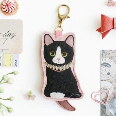 JETOY,Choo choo 甜蜜貓娃娃鑰匙圈零錢包 Coco~快樂生活網