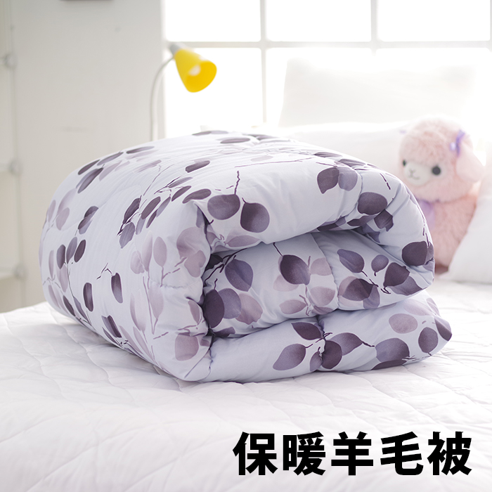 羊毛被 保暖被 冬被 棉被 三井武田羊毛蓄熱暖被 台灣製【YV7297】快樂生活網