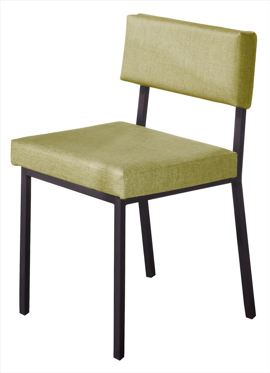 【石川家居】CE-453-15 艾德黑腳餐椅 綠皮 (不含餐桌與其他商品)