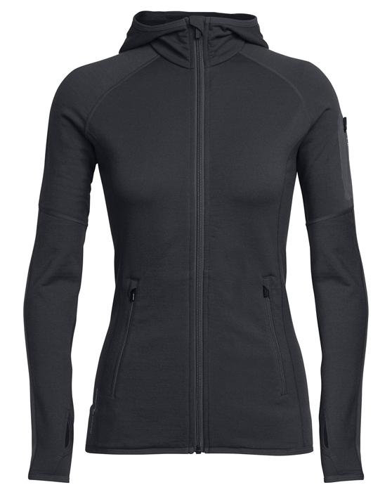 【鄉野情戶外用品店】 Icebreaker|紐西蘭| RealFLEECE 刷毛連帽外套 女款/刷毛外套 羊毛外套/IB101475