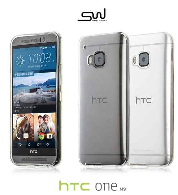 HTC One M9 / M9S 專用 TPU 保護套 - 透明 手機套 SIMPLE WEAR
