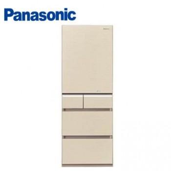 Panasonic 430公升五門變頻冰箱(NR-E430VG-N1(翡翠金))