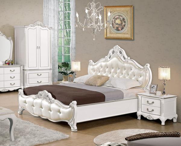 【石川家居】CM-083-1 夏洛蒂6尺法式雙人床架 (不含床墊與其他商品) 需搭配車趟