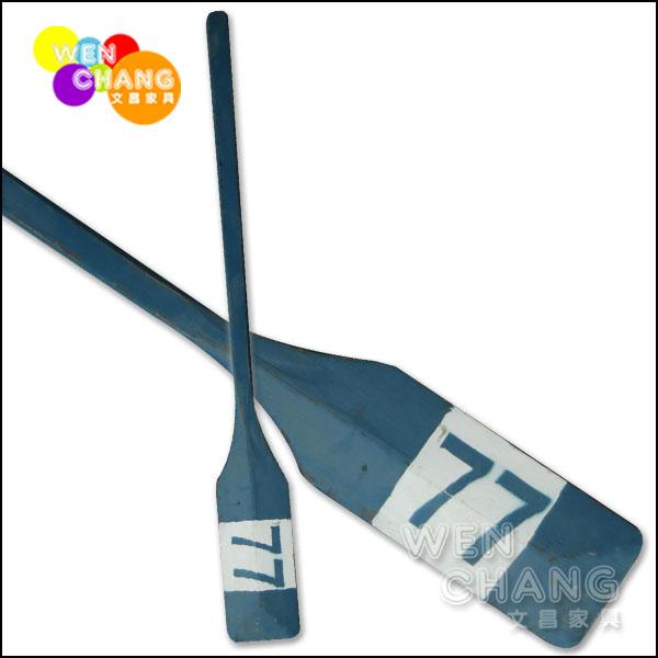 *文昌家具*鄉村海洋風 工業風 船槳造型飾品 擺設 拍攝 道具 短版 HA003