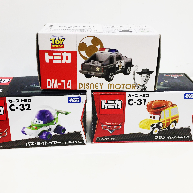 TOMY 玩具車 小汽車 多美 玩具總動員 巴斯光年 胡迪 坦克 賽車 cars 金屬模型車 正版日本進口*JG*