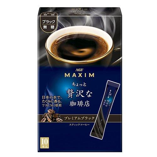 有樂町進口食品 AGF MAXIM 華麗咖啡-黑咖啡(20g) 4901111237841