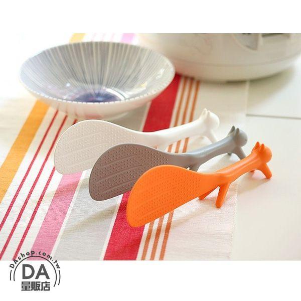 《DA量販店》樂天最低價 婚禮小物 松鼠 造型 飯匙 飯勺 飯杓 可站立 不黏飯 花栗鼠 大尾巴(79-1374)