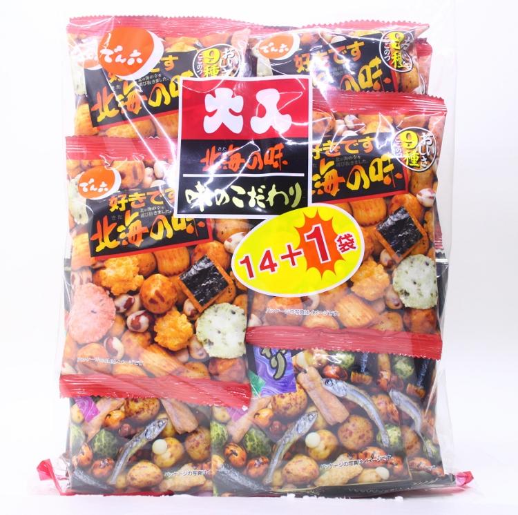 【橘町五丁目】天六 二色綜合14+1袋豆果子
