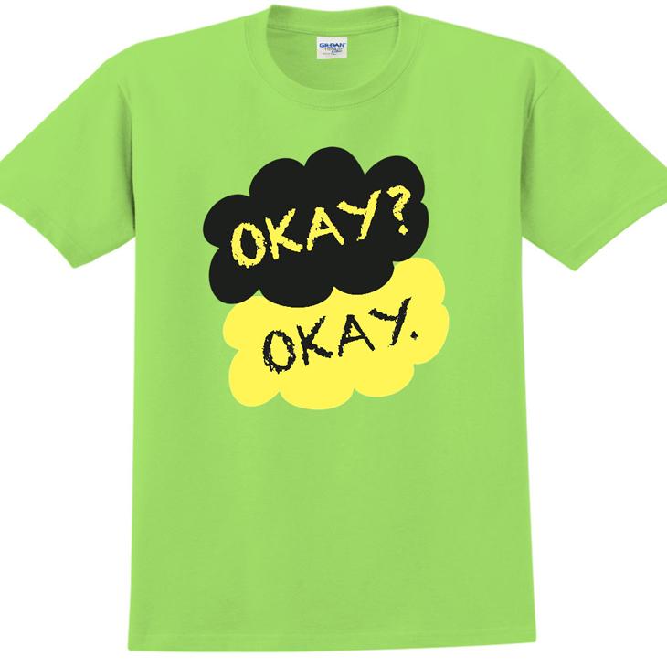 新創設計師- T恤:【Okay】修身短袖 T-shirt ( 果綠 ) 850 Collections
