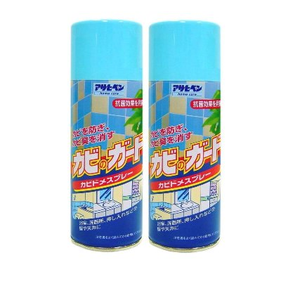 日本製超效多用途防發霉/防霉味噴劑300ml-2入《浴室/家具/天花板/木製品用 /皮革皮件用》