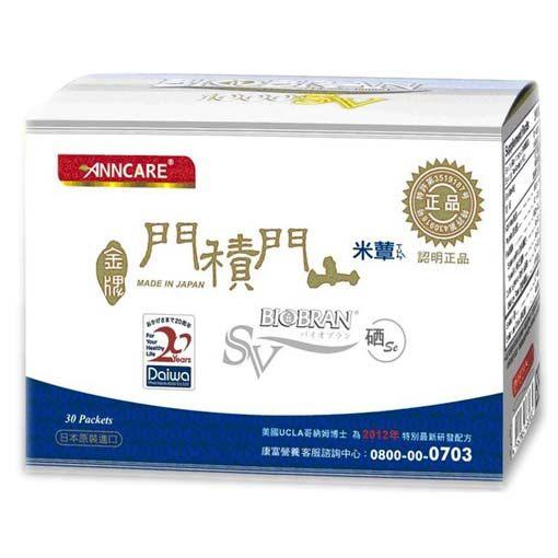 康富生技金牌門積門山米蕈多醣體105包/盒
