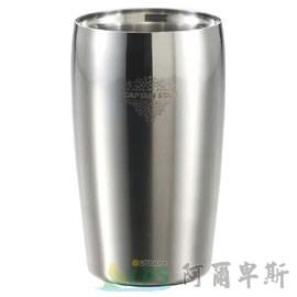 [阿爾卑斯戶外/露營] 土城 日本鹿牌 CAPTAIN STAG 不鏽鋼真空二重斷熱杯350ml 雙層保溫保冷杯 鋼杯 啤酒杯 UE-3201