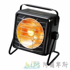 [阿爾卑斯戶外/露營] 土城 UNIFLAME 屋外用方型暖爐(黑) 電子點火瓦斯暖爐 630037