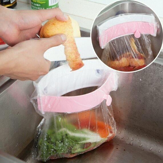[溫馨小舖] ◆水槽廚餘不進水便利夾 ◆廚餘夾◆水槽夾◆日本水槽流理台廚餘夾