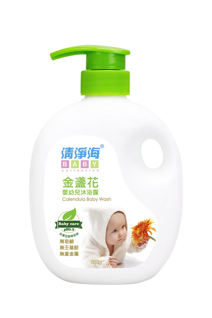 清淨海 金盞花嬰幼兒沐浴露600g