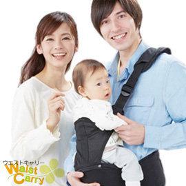 【西村媽媽】獨家代理日本LUCKY Waist Carry威適特腰凳背帶