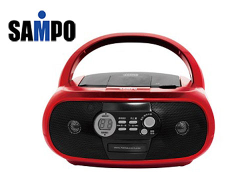 【SAMPO聲寶】 手提CD音響 AK-W1202L《刷卡分期+免運費》