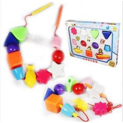 可愛串珠項鍊 / 兒童智力串珠