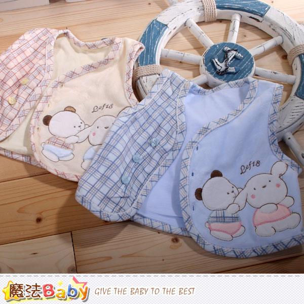 專櫃款嬰幼兒絲絨背心外套 魔法Baby~k42290