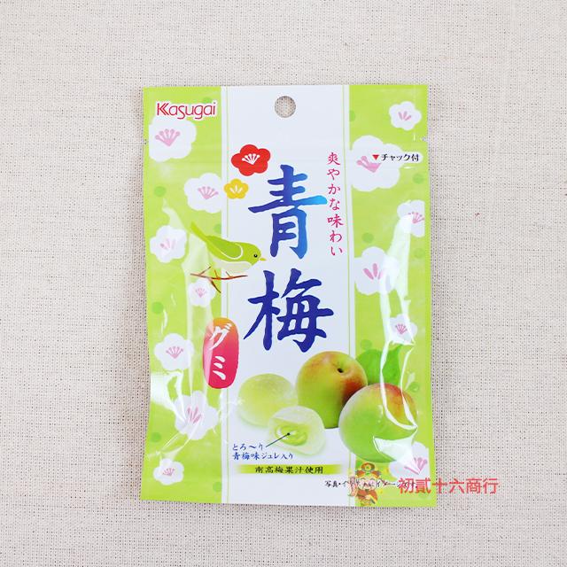 【0216零食會社】日本春日井-青梅軟糖40g