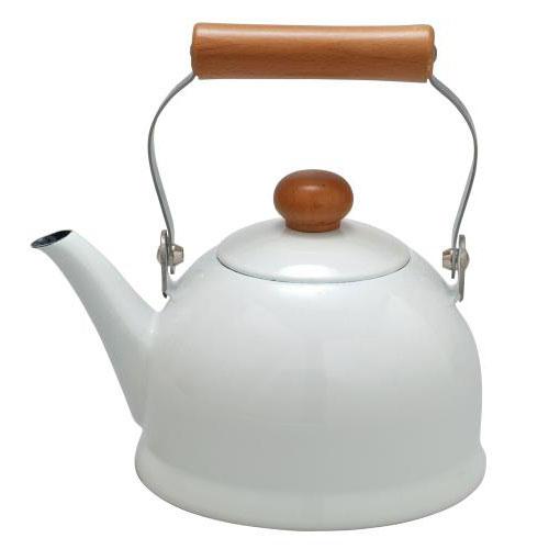 《野田琺瑯》POCHIKA花蕾系列餐具 - 1.5L簡約熱水壺