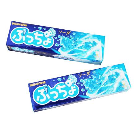 【敵富朗超巿】UHA味覺糖 噗啾蘇打汽水條糖50g