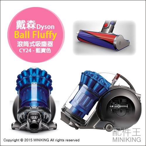 【配件王】日本代購 附兩吸頭 戴森 Dyson Ball Fluffy 旗艦機 滾筒式吸塵器 CY24