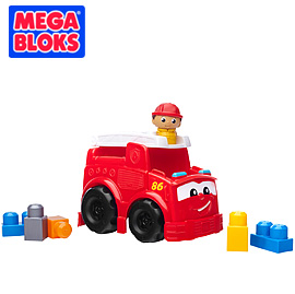 【悅兒樂婦幼用品?】MEGA BLOKS 美高積木消防車