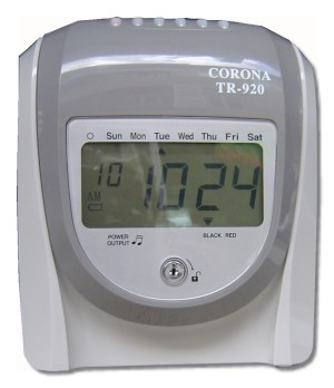 CORONA TR-920 電子打卡鐘