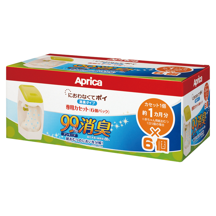 Aprica愛普力卡 - 尿布處理器專用替換用膠捲(6入)