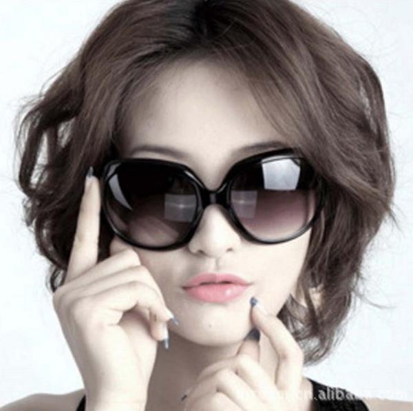 50%OFF【J003730Gls】希爾頓女士太陽眼鏡批發潮流墨鏡 附眼鏡盒 防紫外線 明星款 反光鏡面