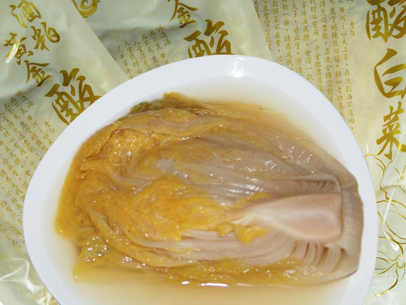 『大紅魚』黃金酒粕酸白菜 600g