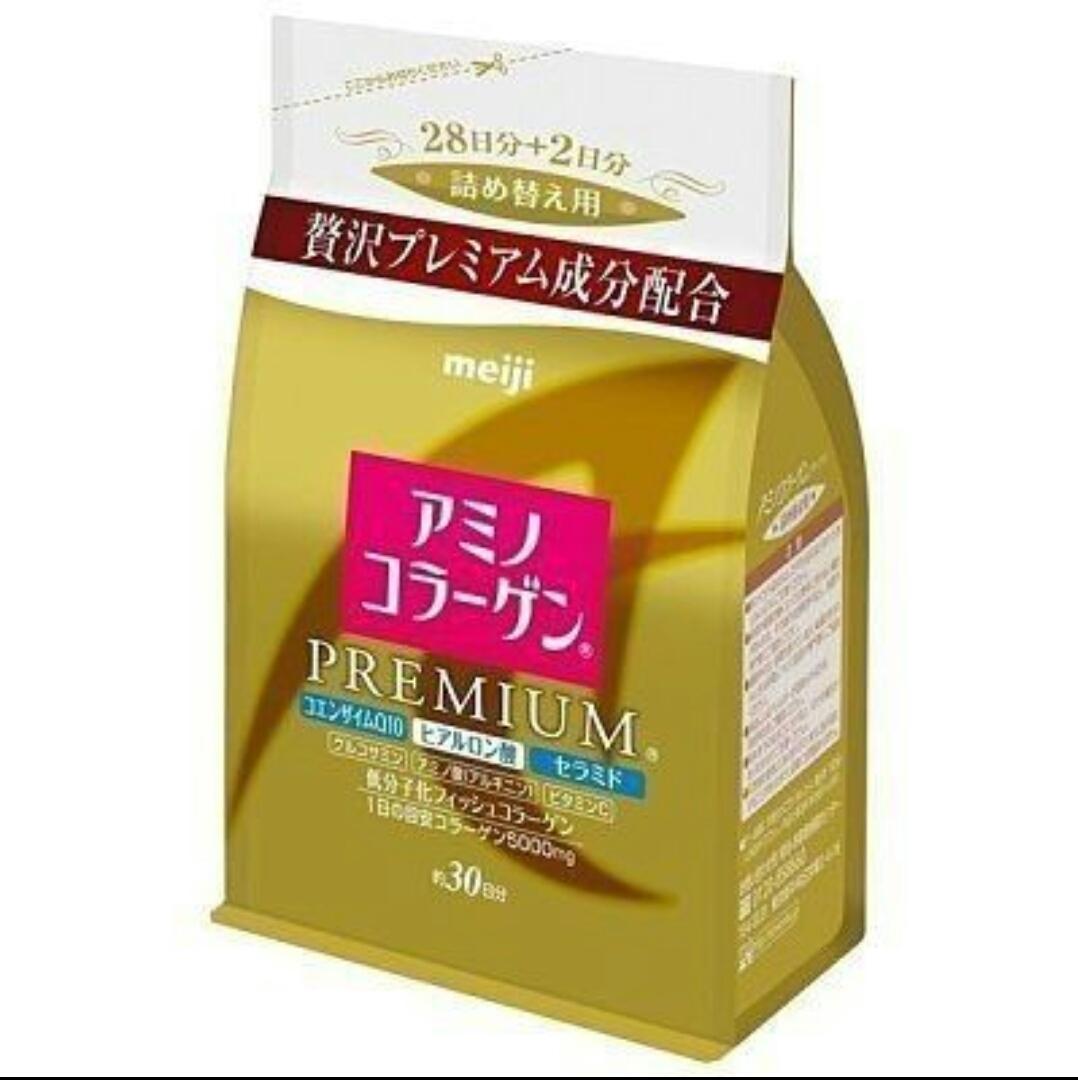 日本 Meiji 明治 膠原蛋白粉補充包袋裝 214g 白金尊爵版【JE精品美妝】