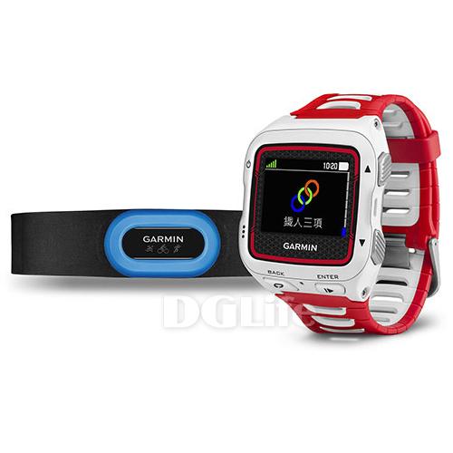 GARMIN 鐵人三項運動錶 Forerunner 920XT(HRM-Tri Bundle) 紅白