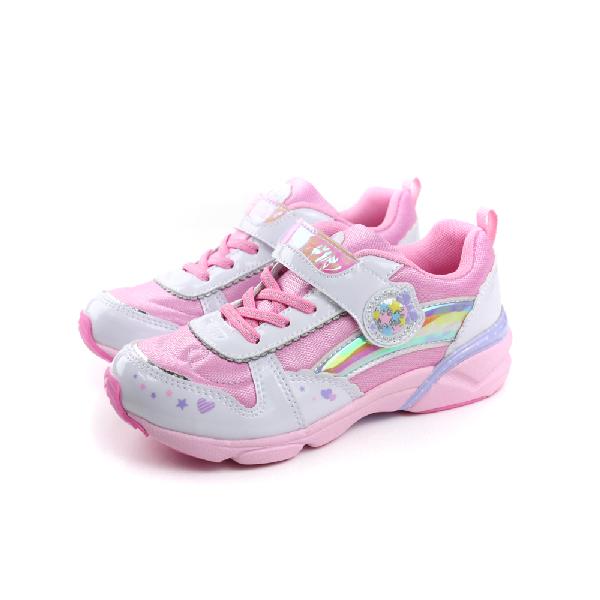 MoonStar 運動鞋 童鞋 粉色 大童 no006